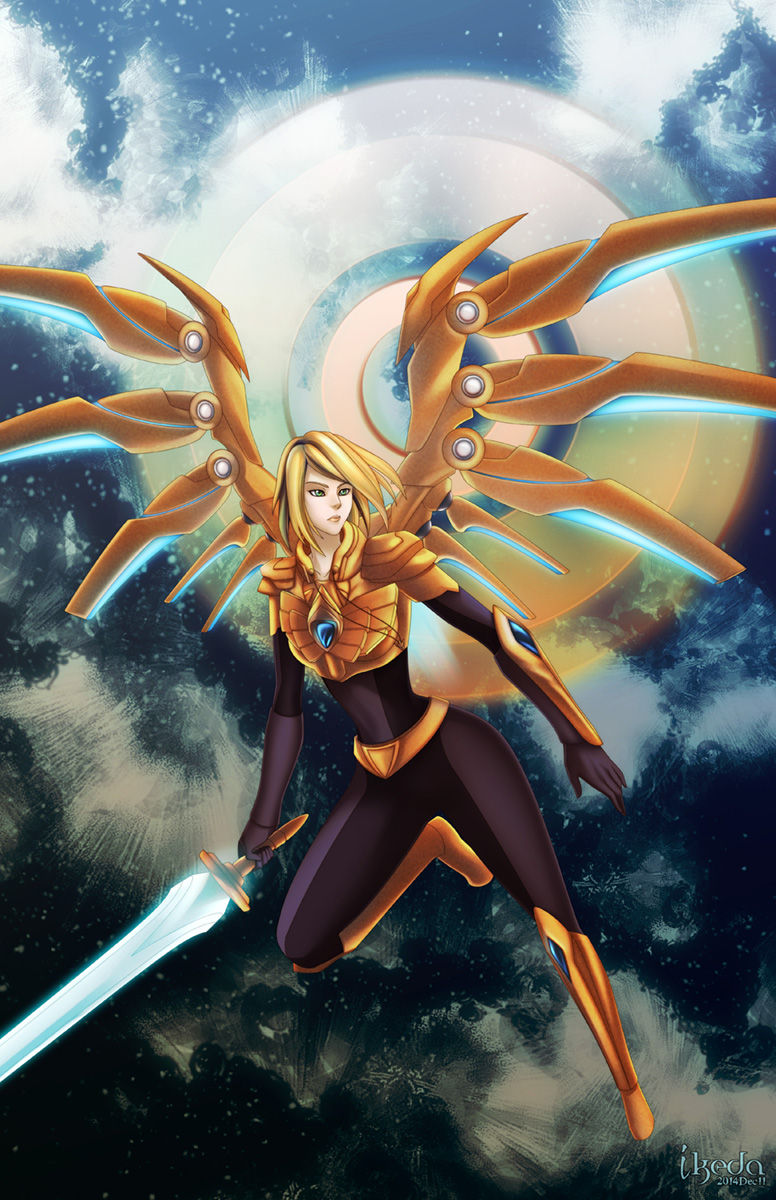 Commission - Aether Wing Kayle by ikeda on DeviantArt