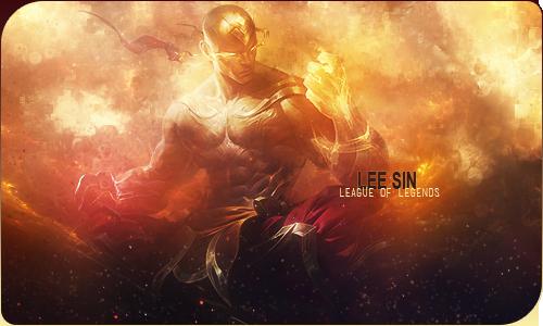 Lee Sin God Fist