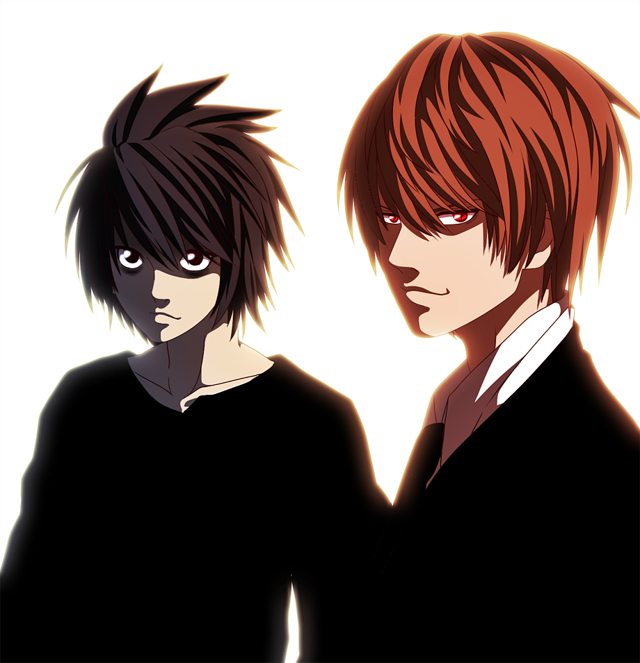 Death Note X Kira: L And Light By Harumishi On DeviantArt