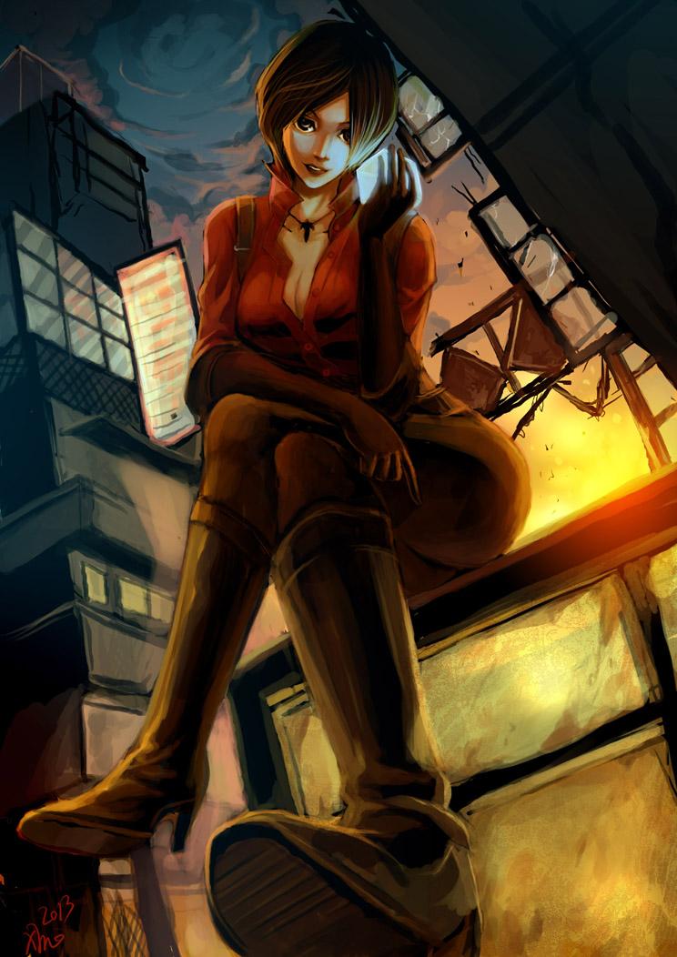 resident evil 6 ada by minmin80
