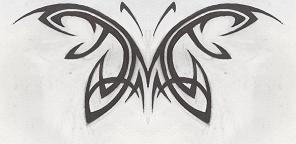 Tattoo-Butterfly by HollowMinded