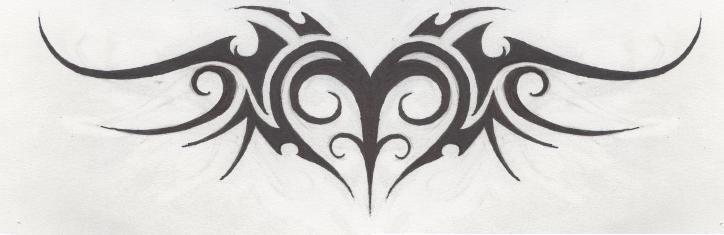 tattoo tribal heart by hollowminded on deviantart