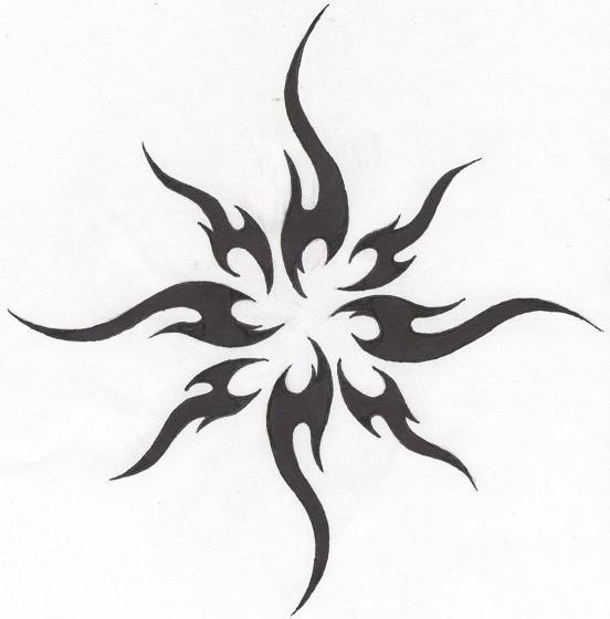 TattooTribal Sun by HollowMinded on deviantART