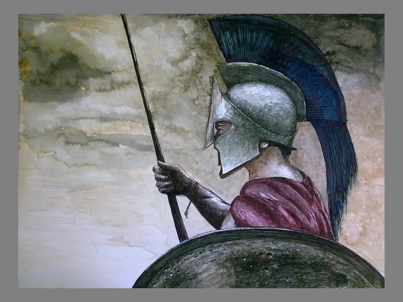 Spartan by Subhankar-debbarma