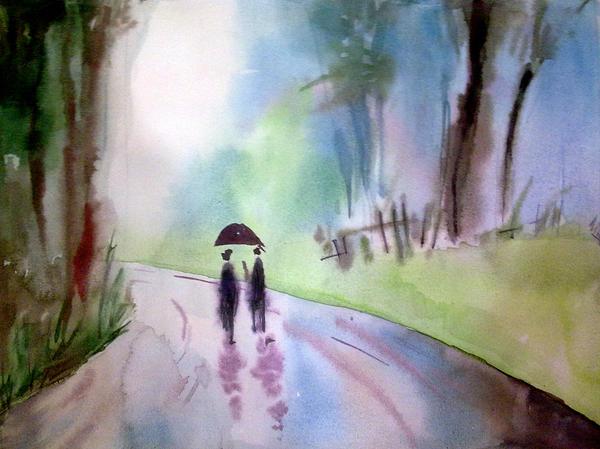 Rainy Day by Subhankar-debbarma