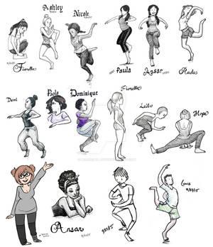 Fall 2015 Dance Class Gestures (part 1)