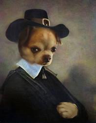 Thanksgiving dog