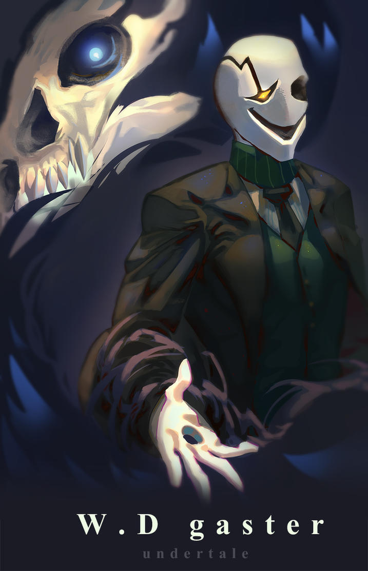 Doctor W. D. Gaster by PC-Doodle on DeviantArt