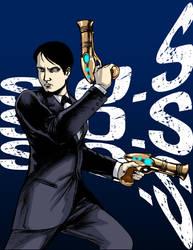 Edison Strike a Pose by connerche