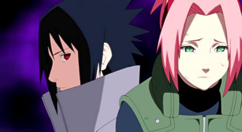Sasuke x Sakura by Hakufumomo on DeviantArt