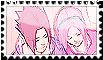 SasuSaku Stamp (12) by Hakufumomo