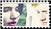 Peeta And Katniss (EverLark) Stamp (1) by Hakufumomo