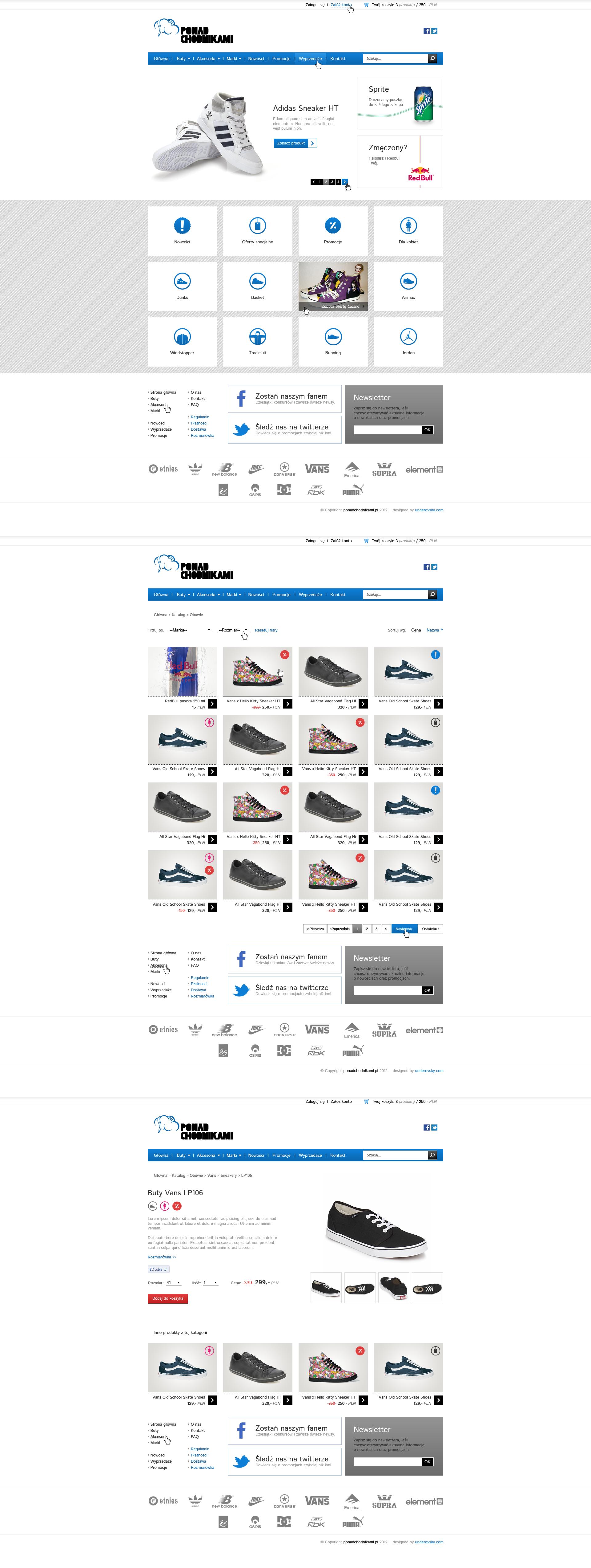 ponadchodnikami.pl layout