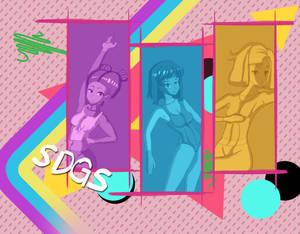 Backup Dancers OC(80s theme) part 2