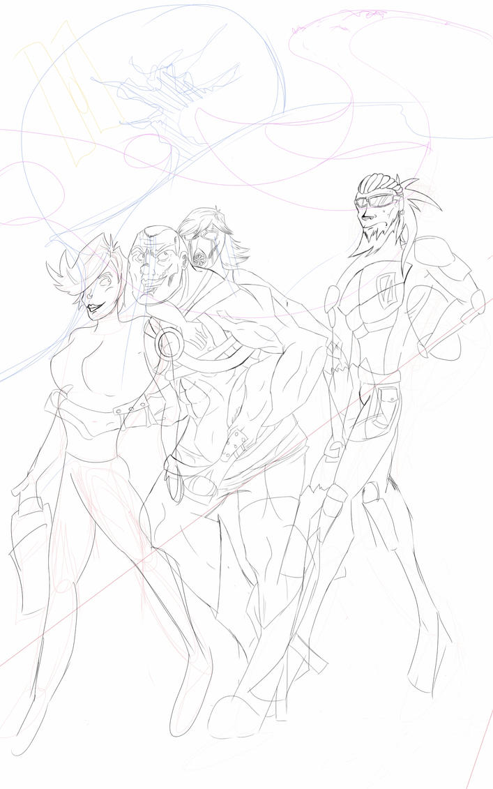 Halloween wip by GohanLuvVidel