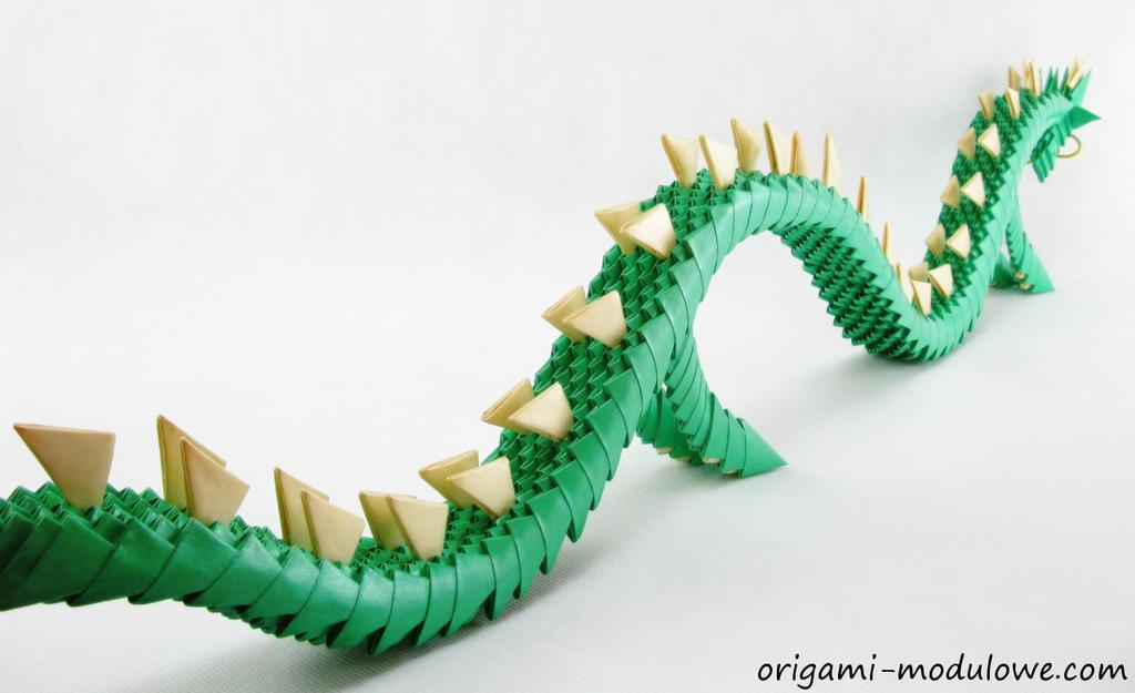 Modular Origami Dragon 2 By Origamimodulowe
