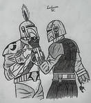 The Scourge of Mandalore by Lordamus