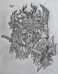 Blackhand the Destroyer by Lordamus