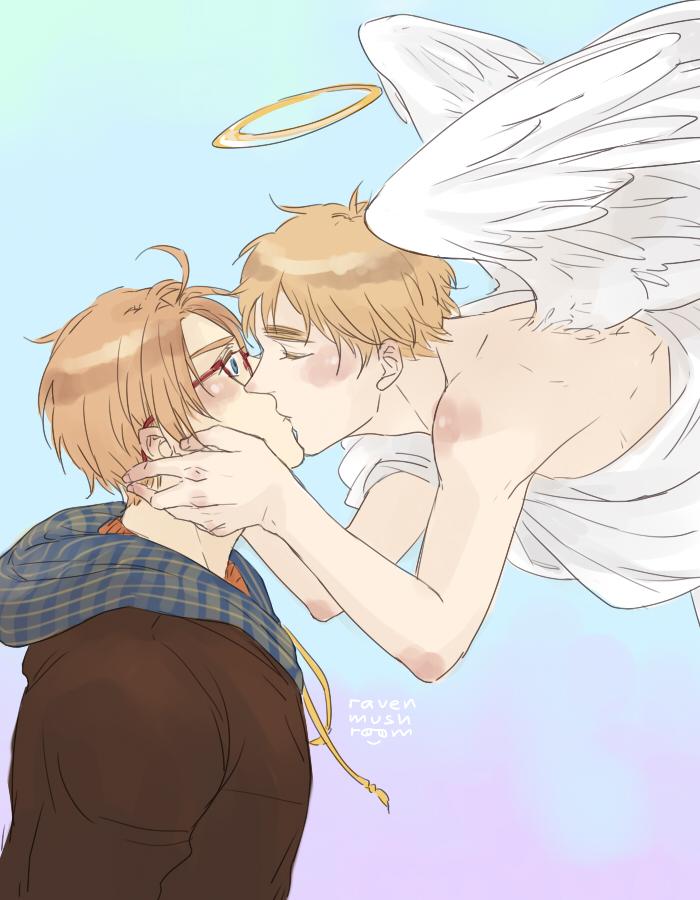 Angel's Kiss [USUK/APH] by RavenMushroom