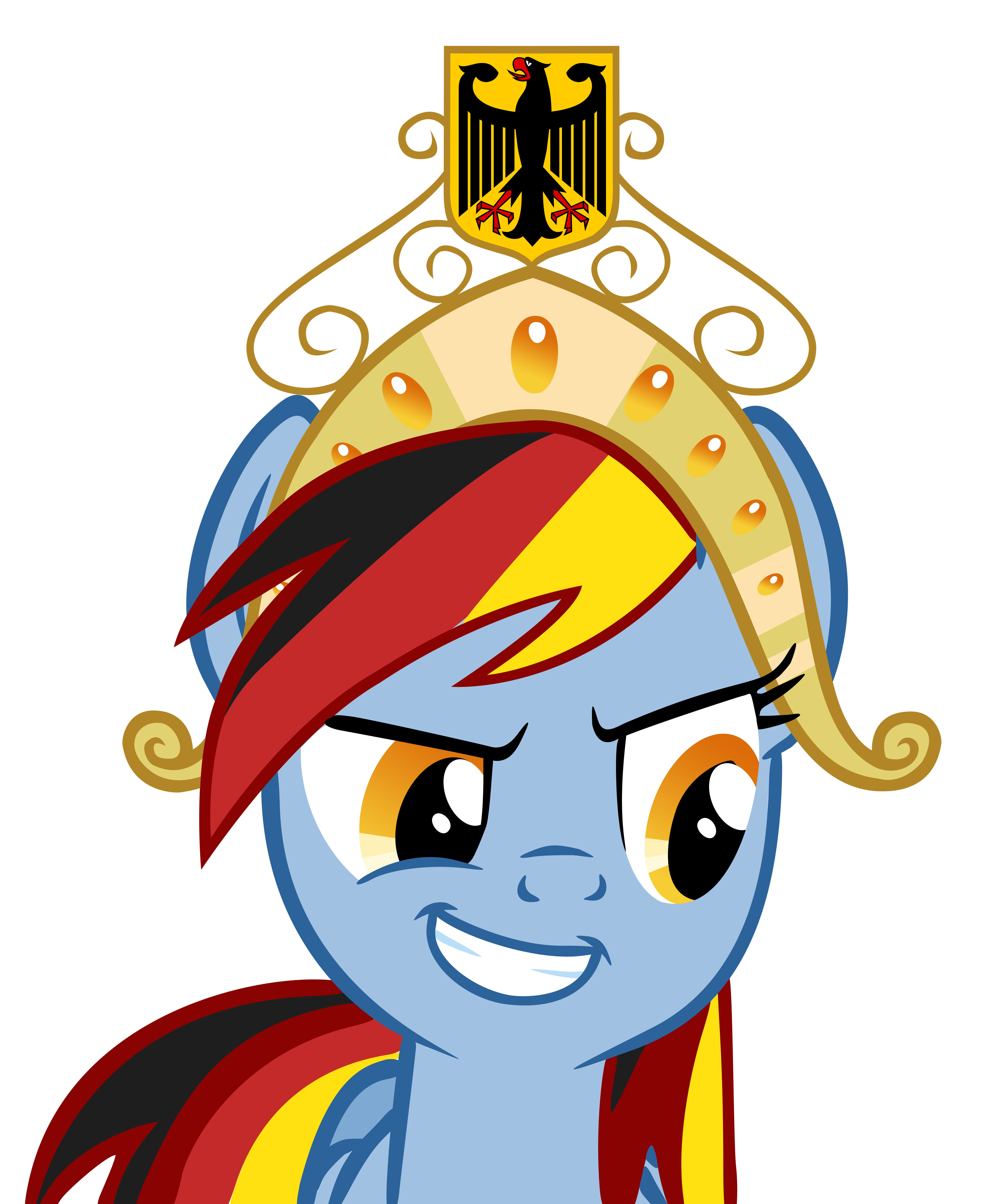 German Dash with Crown