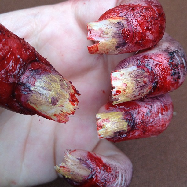 zombie hand/nails close by ScarahScrewdriveR