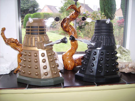 daleks with a view