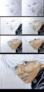 X-Men Storm step by step