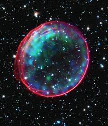 Supernova LOOK LIKE A BUBBLE