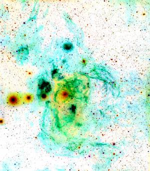 Lobster Nebula Under Water