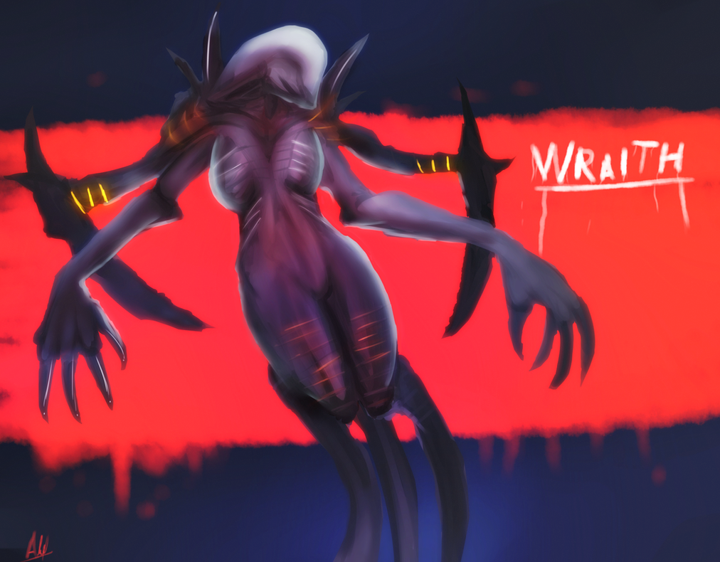 wraith evolve wallpaper. wraith the monstrous beauty by alef76304101 evolve wallpaper m