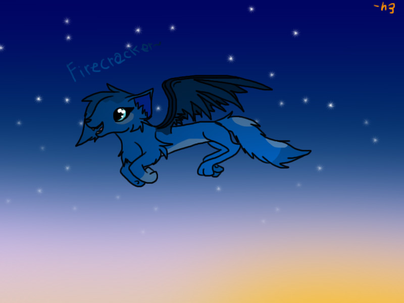 Firecracker~ (gift~) by Helkie-three