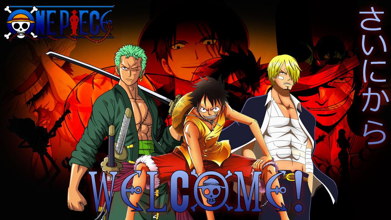 One Piece Desktop Wallpaper By Xeiban On Deviantart