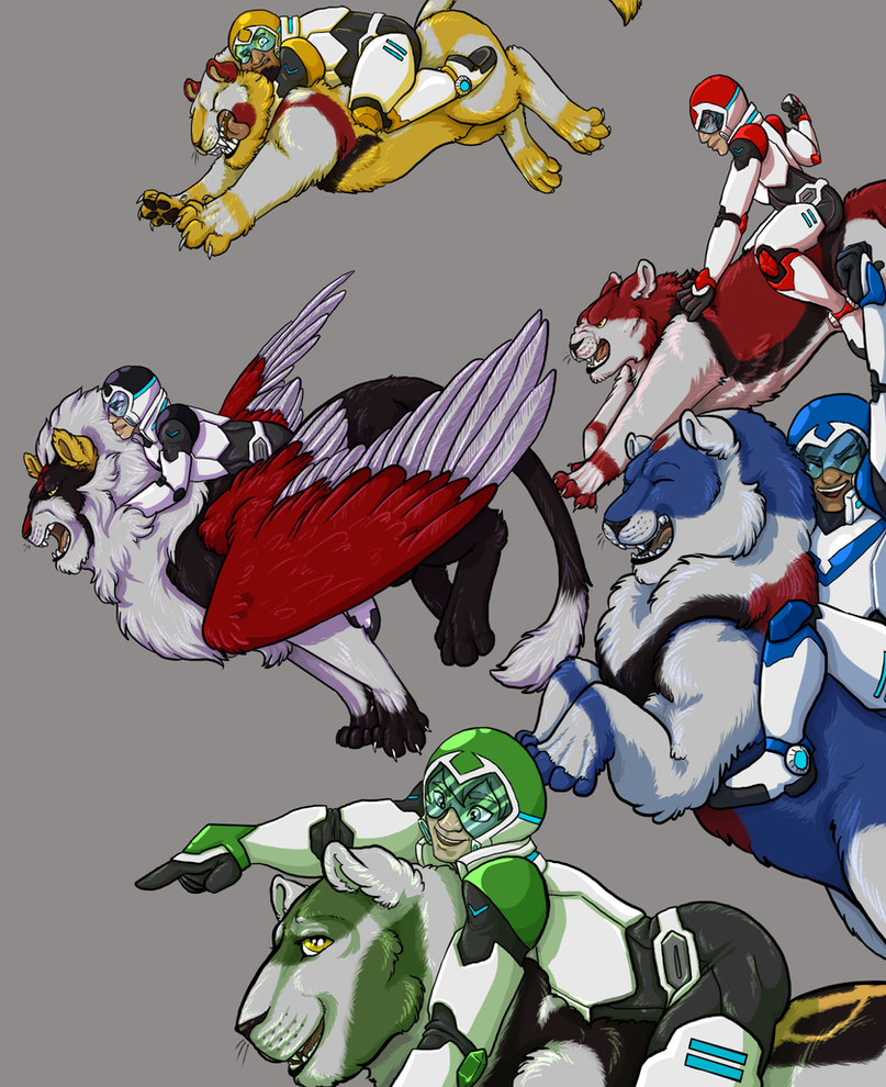 Voltron - WIP3 by Invader-Sah