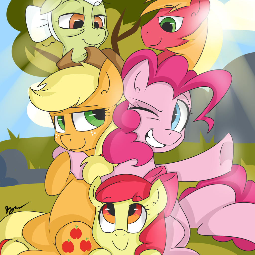 Apple Pie Family by bloodyhellhayden