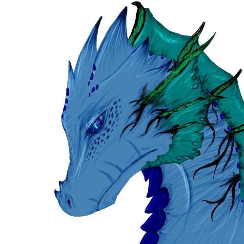 Aquatic Dragon by GODofCREATURES