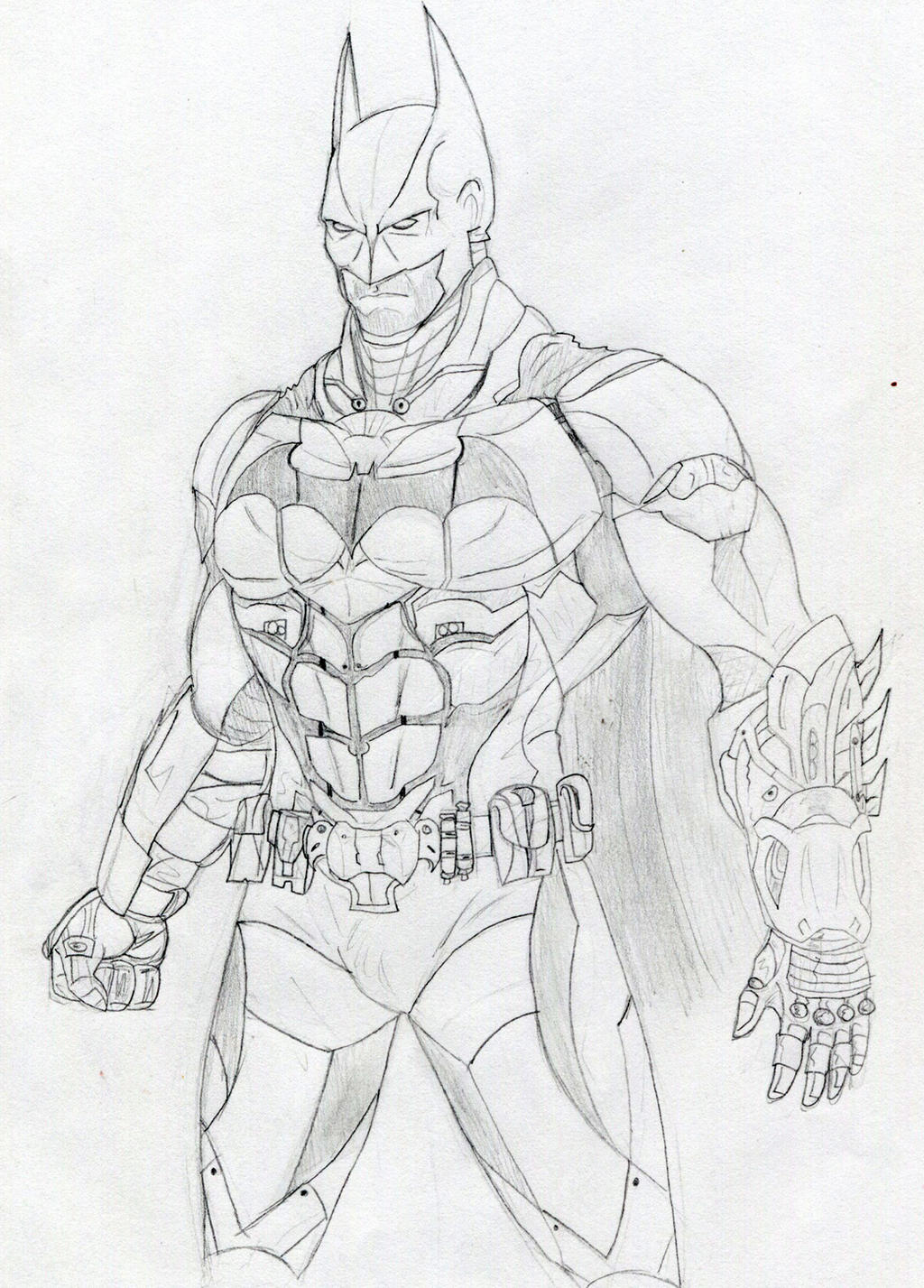 Batman Arkham Knight By Datjiveturkey On DeviantArt