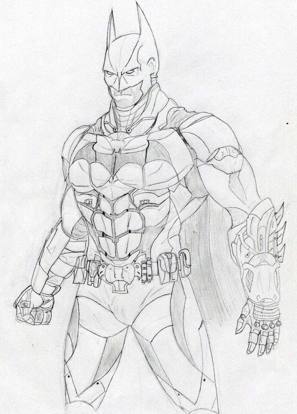 Batman Arkham Knight By Datjiveturkey