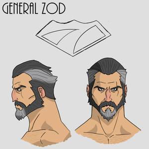 General Zod Design sheet