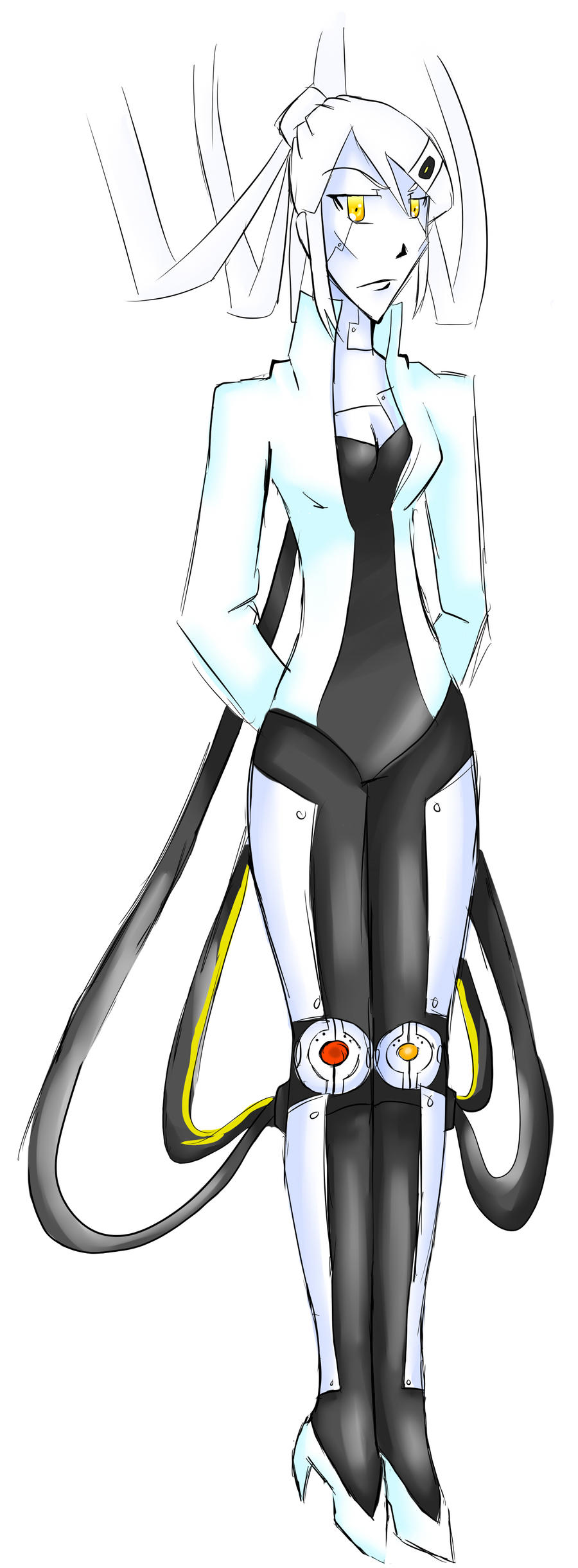Human GLaDOS by wasserplane
