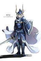 FFI Warrior of Light by AriseMerveille