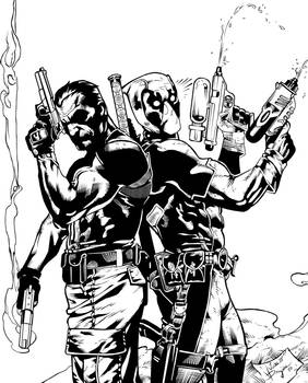 The Punisher / Deadpool - Inked
