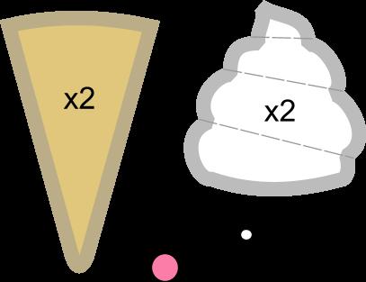 Ice Cream Plush Pattern by PlushPatterns