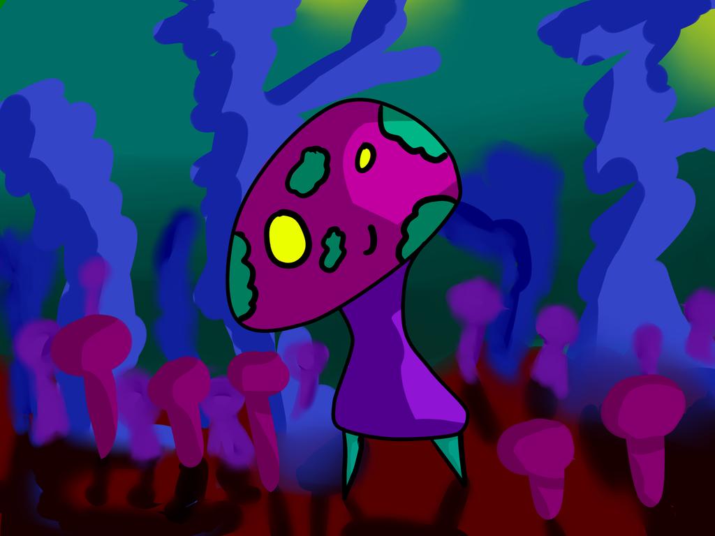 Mushrooms by Envy-is-my-god