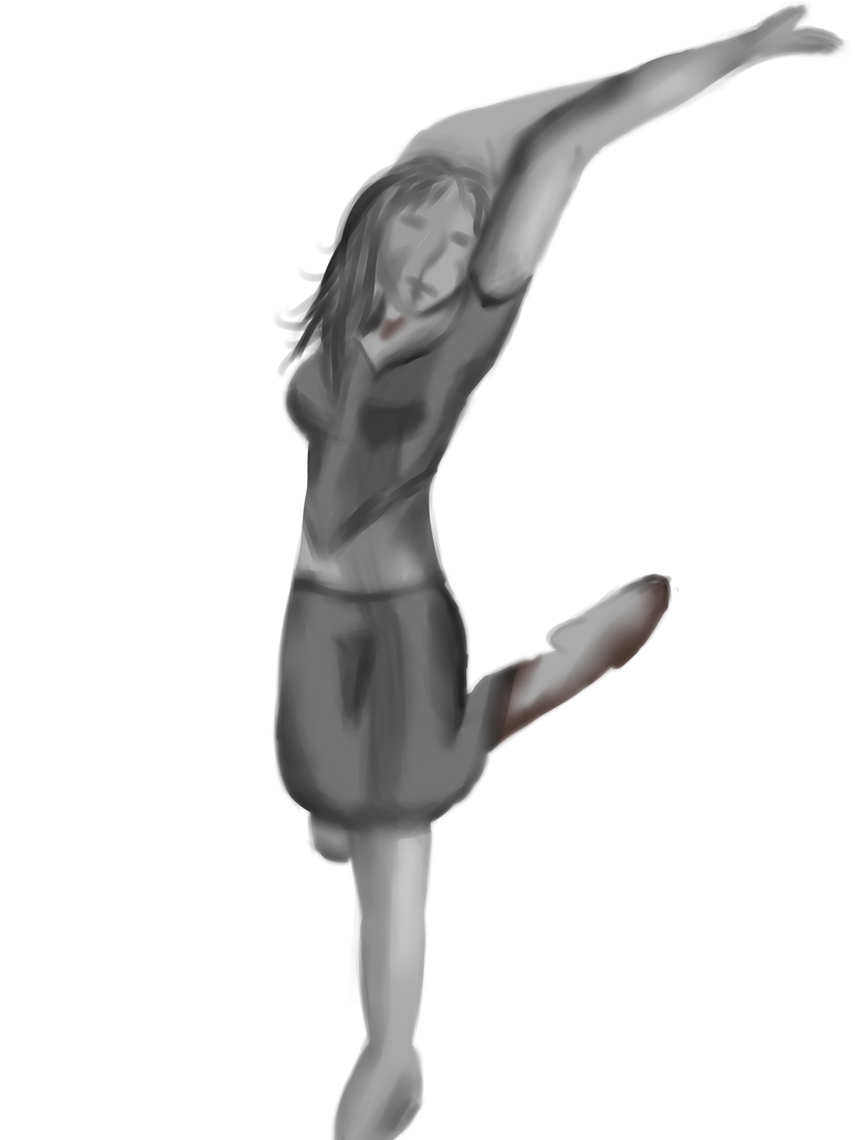 Ballet Pose 2 hour assignment. by Envy-is-my-god