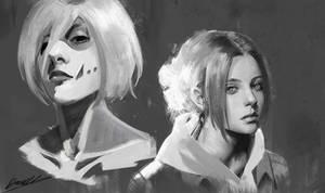 Annie and Female titan