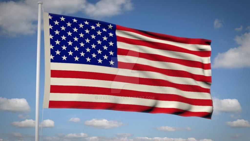 USA Flag Wallpaper by SEspider on DeviantArt