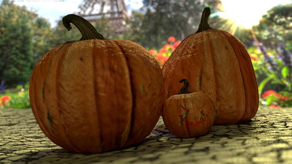 Pumpkin Scene (WIP-Version1.0.3) 2014 by SEspider