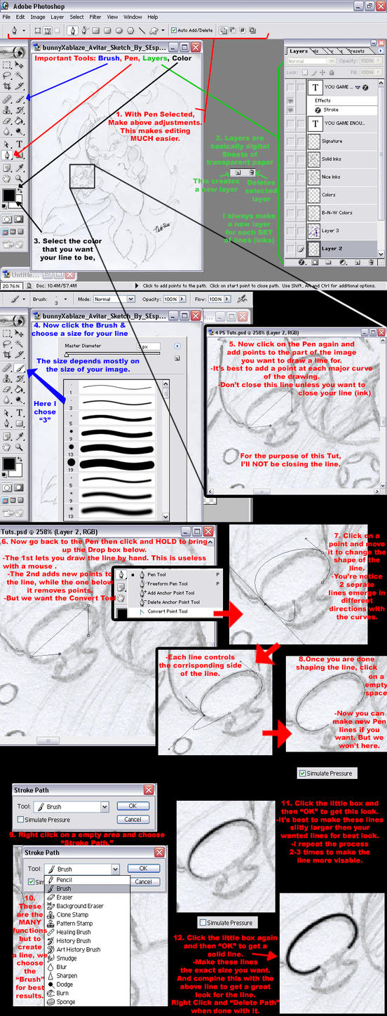 Photoshop pen tool tutorial by sespider on deviantart photoshop pen tool tutorial by sespider baditri Image collections
