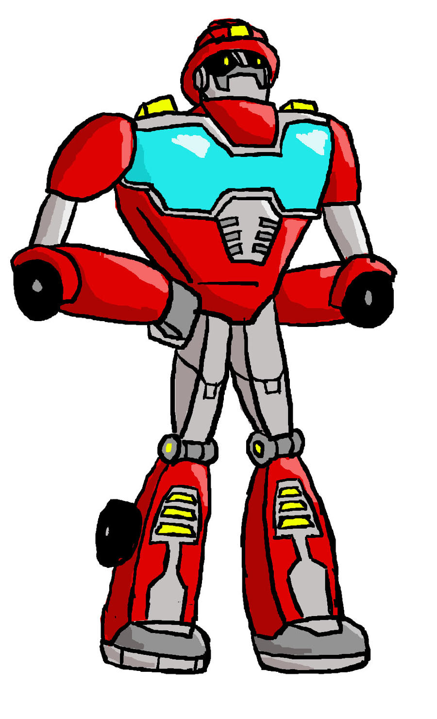 Heatwave From Rescue Bots By Charonthesabercat On Deviantart