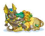 Baby Anubis ans Ammit
